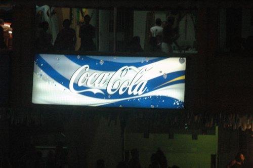 Coca cola azul3